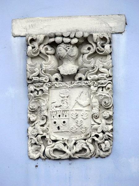 Casa de los Alberti - Escudo