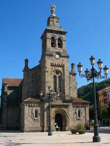 Ruta por el casco urbano de Ciaño en Langreo