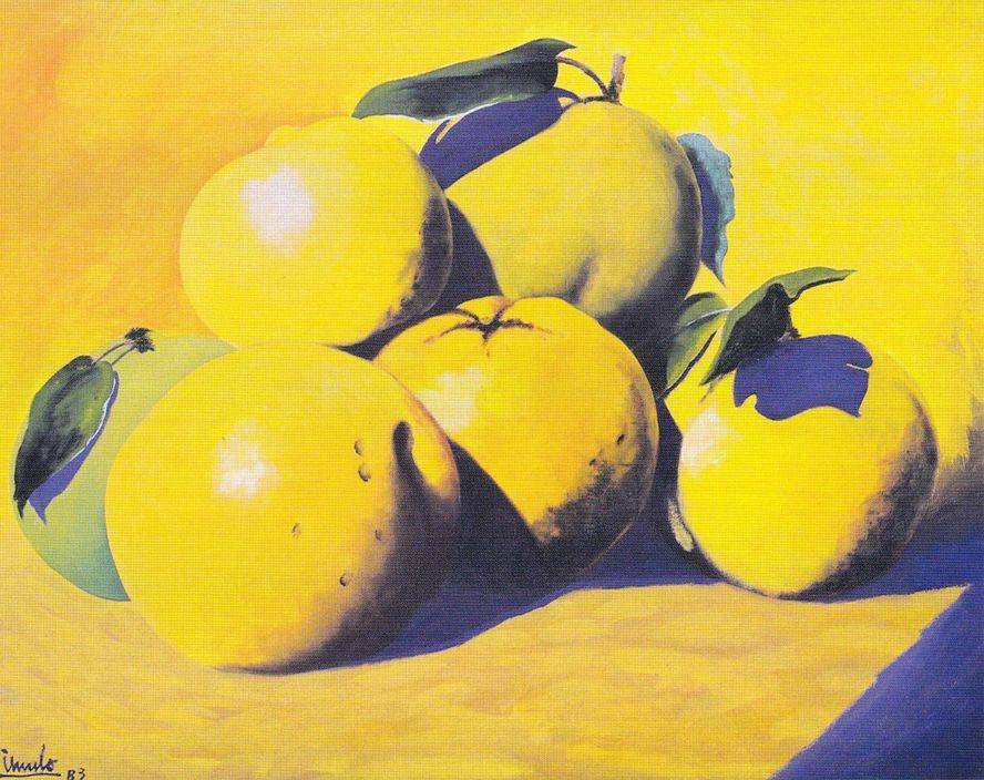 Frutas amarillas - Eduardo Úrculo