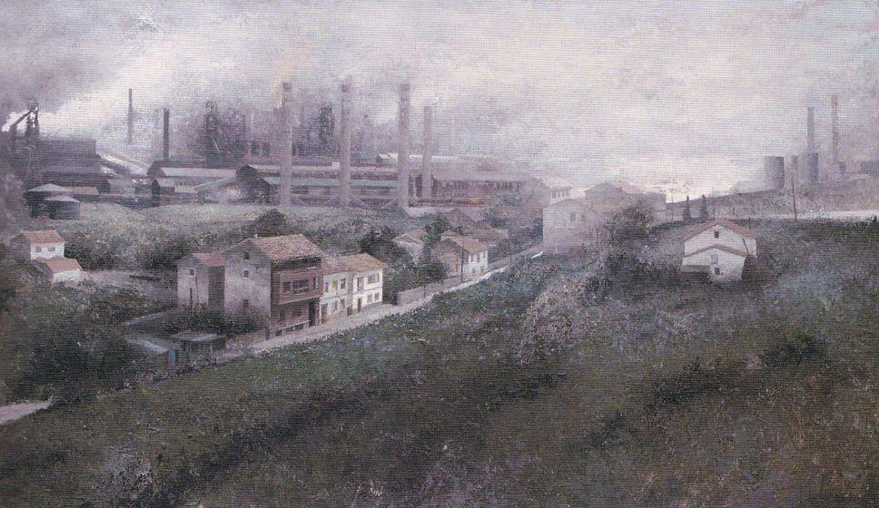 "Paisaje industrial - Francisco García Fernández ""Pachín"""