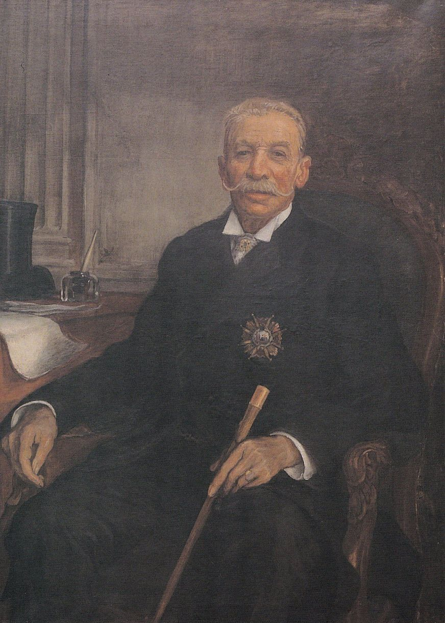 Retrato del alcalde Antonio María Dorado y González - Nicanor Piñole