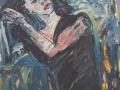 Mujer peinándose - Guillermo Morales