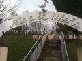 Monumento a la Libertad en La Teyera entre Mieres y Langreo
