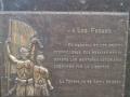 Monumento a la Paz en La Teyera entre Mieres y Langreo