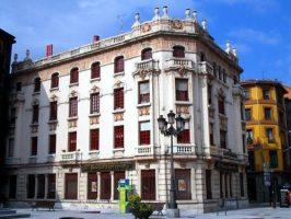 Edificio del Banco Herrero en Sama de Langreo
