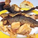 Truchas con jamón - Gastronomía de Langreo