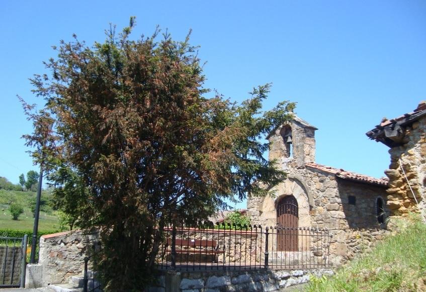 Capilla de San Justo en La Nava