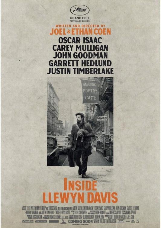 Cartel película cine A Proposito de Llewyin Davis