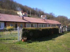 Cuarteles de La Braña en Langreo