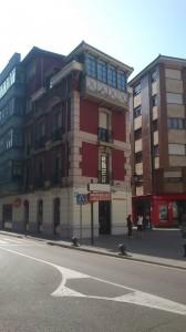 Edificio Calle constitución de Sama de Langreo