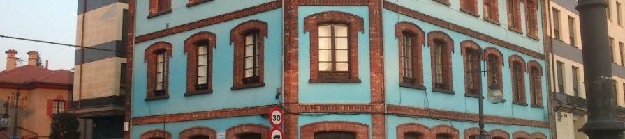 Edificio Viviendas Compañía de Asturias en La Felguera Langreo