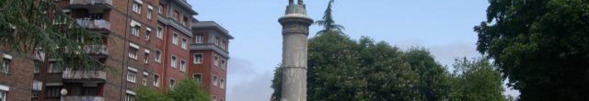 Escultura monumento a Pedro Duro La Felguera Langreo