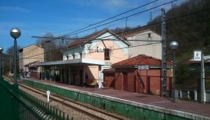 Estación del Ferrocarril de Langreo en Tuilla