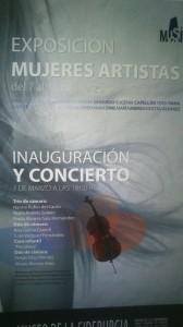 Exposición Mujeres Artistas 2014 en el Musi
