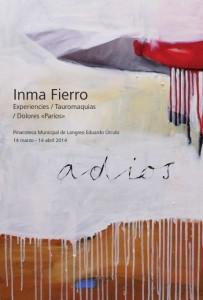 Exposición pinturas Inma del Fierro en la pinacoteca Eduardo Úrculo Langreo