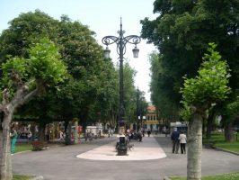 Farolas parque Dolores F Duro La Felguera Langreo