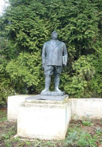 Monumento a Manuel Suárez parque García Lago nuevo de La Felguera
