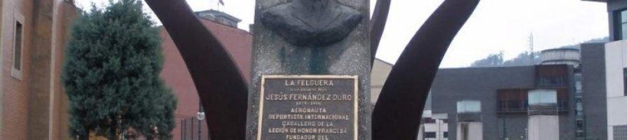 Monumento a Jesús Fernández Duro La Felguera Langreo