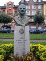 Monumento a Marino Gutiérrez parque viejo de La Felguera Langreo