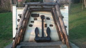 Monumento a la mina y la mar parque García Lago La Felguera Langreo
