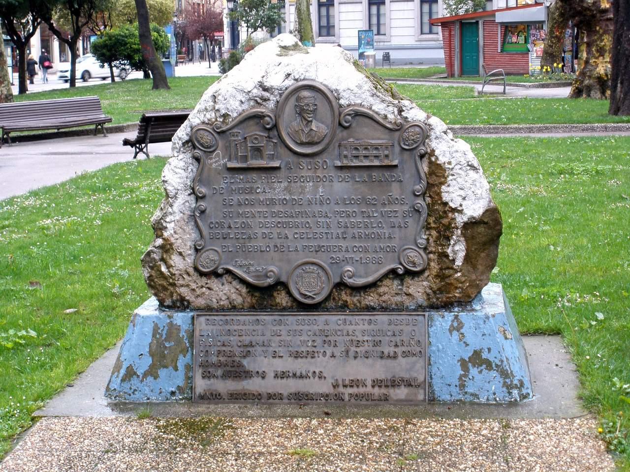 Monumento a Suso La Felguera