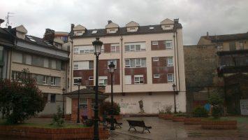 Plaza de la Fundición en la Felguera Langreo