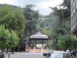 Quiosco parque Dorado Sama de Langreo
