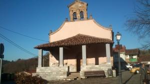 Ermita santuario de El Carmen en Langreo