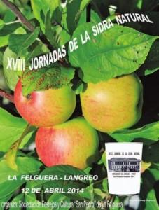 XVIII jornadas de la Sidra Natural y concurso de escanciadores en La Felguera Langreo
