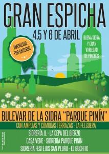 Sidra bulevar sidra parque Pinín