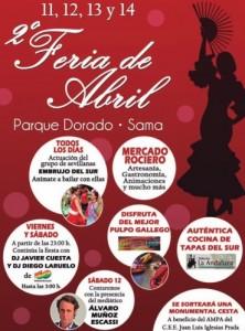 Feria de Abril en Sama de Langreo 2014