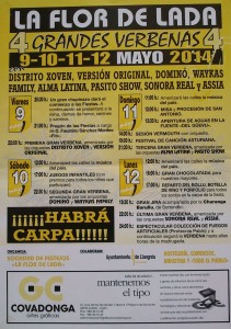 Fiestas de la Flor en Lada Langreo mayo 2014