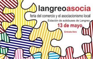 Langreoasocia Estación de autobuses de La Felguera Langreo feria comercio local