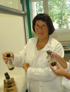 María Amor Fombella geóloga palinóloga de Lada Langreo