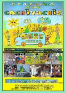 Pequeño circo de los Cachivachis en las escuelas Dorado - Sama de Langreo