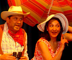 Teatro La capacha Arizona en Langreo