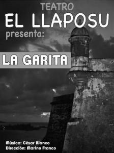 Teatro La_garita por el grupo el llaposu en el teatro de La Felguera Langreo