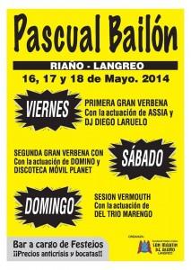 Fiestas San Pascual Baylón en Riaño Langreo
