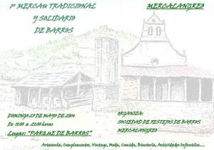 Mercado Tradicional y Solicario de Barros Langreo 2014