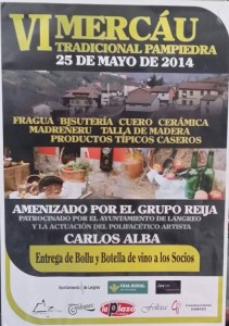 Mercáu Tradicional asturiano en Pampiedra Langreo 2014