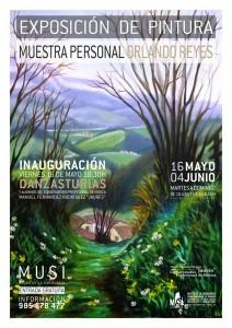 MUSI Museo Siderurgia de Asturias Exposición Orlando Reyes Muestra Personal La Felguera Langreo