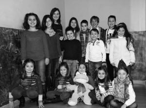 Teatro infantil La Xaronca obra Mitoloxíes en La Felguera Langreo