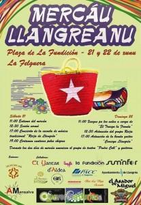 Mercáu Llangreanu en La Felguera Langreo 2014