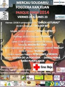 Mercáu Solidariu San Xuan 2014 Parque Pinín La Felguera Langreo
