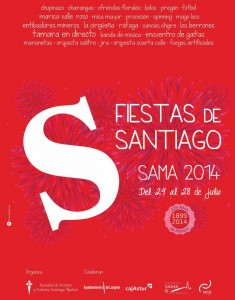 Fiestas de Santiago de Sama 2014