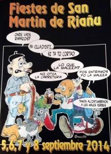 Fiestas San Martín de Riaño 2014 Langreo