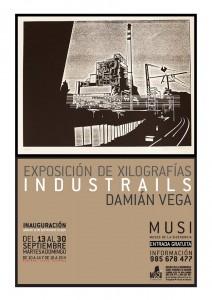 Exposición Industrails Museo de la Siderurgia de Asturias La Felguera Langreo MUSI Damián Vega Velasco