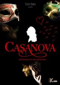 Teatro: Casanova, memorias de un libertino @ Teatro de La Felguera | Langreo | Principado de Asturias | España