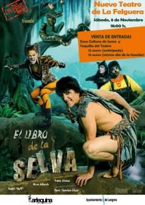 Teatro: El libro de la selva @ Teatro de La Felguera   Langreo   Principado de Asturias   España