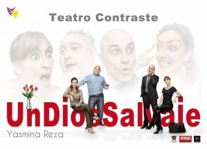 Teatro: Un dios Salvaje @ Teatro de La Felguera | Langreo | Principado de Asturias | España